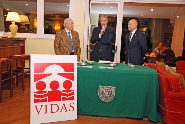 Giuseppe Bernoni promuove Coppa VIDAS presso la Pinetina Golf Club